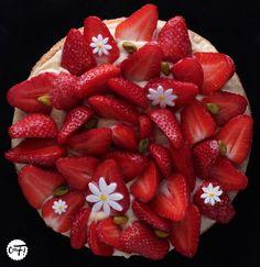 Tarte aux fraises Cupcake Cakes, Cupcakes, Cobbler, Tea Time, Meal Prep, Sweet Tooth, Strawberry, Blog, Treats