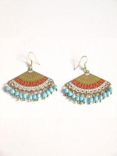 Fair Trade Rococo earrings $18.00