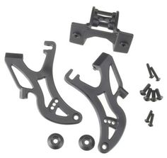 Traxxas 5411 Wing Mount Revo by Traxxas. $8.46. From the Manufacturer                The Traxxas Revo wing is the latest addition to the performance accessory line-up for the six-time National Champion Revo 3.3. The combination of the Adjustable deflection angle, wing height, an dthe unique wing esign allow tuining options for any track condition an ddriving style. The wing is available separately in white, black or the new Exo-Carbon finish.                                   ...