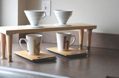 {diy} pourover coffee station. » hk in love.