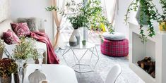 38 Small yet super cozy living room designs Cozy Living Rooms, Home And Living, Living Room Decor, Salons Cosy, Appartement Design, Apartment Interior, Small Apartments, Small Spaces, House Rooms