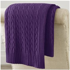 Ralph Lauren Home Cable Cashmere Throw Blanket ($238) ❤ liked on Polyvore featuring home, bed & bath, bedding, blankets, decor, natural, pillows & throws, cable throw blanket, cable knit throws and cable knit throw blanket