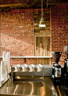 Brick Wall .. Peregrine Espresso | Washington, D.C.