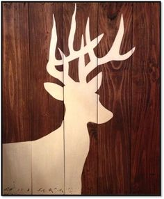 Killer Crafts: DIY 8 Point Deer Painting