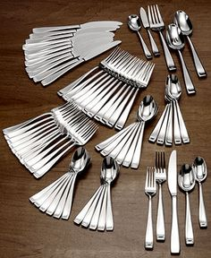 Oneida Flatware 18/10, Moda 65 Piece Set - Flatware & Silverware - Dining & Entertaining - Macy's