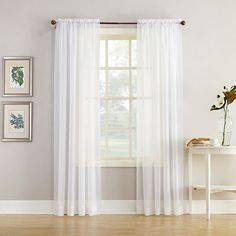 Buy Home Expressions™ Jacqueline Rod-Pocket Sheer Panel Pair today at jcpenney.com. You deserve great deals and we've got them at jcp!