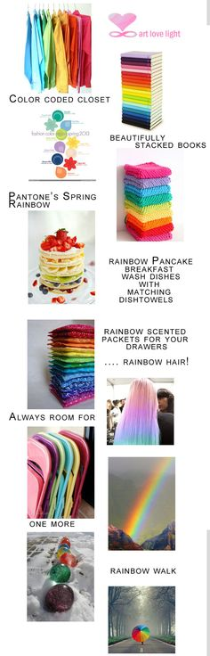 rainbow home decor