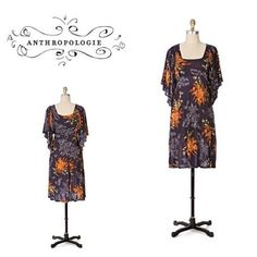 Anthropologie Posies dress by Maeve Size XS and will fit a size 0-4 best. Pullover style dress . Will bundle for 10% off all bundles of 2 or More items Anthropologie Dresses