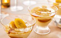 Uma sobremesa gourmet também poder ter valores funcionais para a sua saúde: experimente fazer banana flambada com Iogurte TopTherm - é uma delícia! Confira hoje no Programa Mulheres ;)
