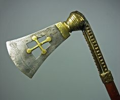 Dahomey Fon axe 19th Cent - head kl.jpg - African axes - African Weapons