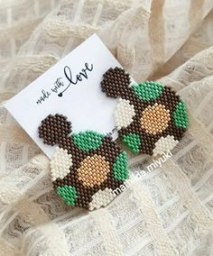 Seed Bead Patterns, Beaded Bracelet Patterns, Peyote Patterns, Beading Patterns, Seed Bead Jewelry, Beaded Jewelry, Handmade Jewelry, Beaded Earrings, Beaded Bracelets