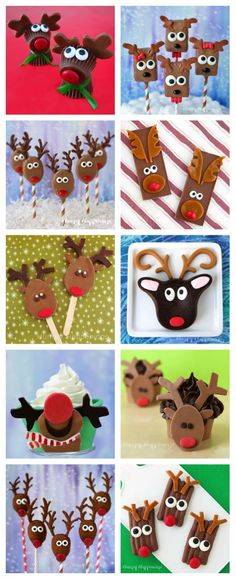 This Christmas have fun in the kitchen making and decorating reindeer food crafts and holiday treats. Reindeer Cupcakes, Christmas Cupcakes, Christmas Desserts, Christmas Baking, Christmas Treats, Reindeer Food, Christmas Recipes, Kids Christmas, Holiday Treats