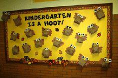 Fall or Autumn Bulletin Board Idea