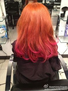 pink and copper hair - Google Search