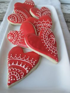 2014 Fondant Wedding Cookies, Red and white Heart Cookies. Valentines Day Cookies, Be My Valentine, Valentine Hearts, Fondant Cookies, Sugar Cookies, Orange Cookies, Unique Wedding Favors, Wedding Ideas, Wedding Reception
