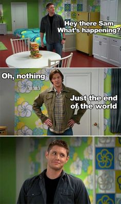 Friendly reminder that this is not an edit, this is not a gag reel, THIS IS ACTUAL DIALOGUE FROM AN ACTUAL EPISODE OF THE SHOW