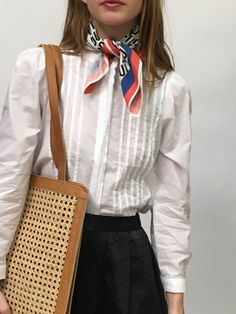 Spunk up a work outfit