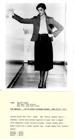 Calvin Klein 1970s