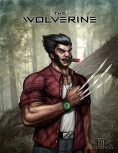 The Wolverine by Creator Anthony Baez