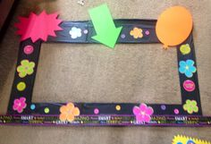 #Photobooth frame crafted for #StudentCouncilRace made by my girls at Sara's Kooky Creations. We had a great time creating.