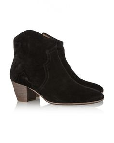 Isabel Marant The Dicker Suede Ankle Boots Black - Isabel Marant #isabelmarant #fashion #christmas #christmasgifts #gifts #boots