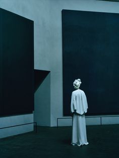 Rothko Chapel, Tilda Swinton by Tim Walker