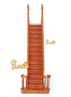 Schicken Mehr Puppen Zubehör Information über 1:6 Dollhouse Miniature Möbel Handgemachte Qualität Treppen Treppe mit Handlauf, High Quality möbel anschlüsse, möbel rosa China Lieferanten, Günstige möbel lot von iland miniature world auf Aliexpress.com