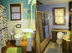 #Bathroom , Minimalist Small Bathroom Makeover Before After : Minimalist Small Bathroom Makeover Before After 3http://bathroom-designs.info