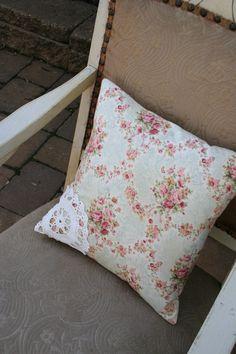 such a beautiful pillow idea