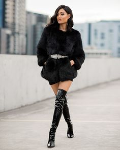Micah Gianneli-Windsor-Smith-Footwear-Shoes-Editorial-Campaign-Street-Style-Kylie-Jenner-Style-All-Black #highheelbootsskirt
