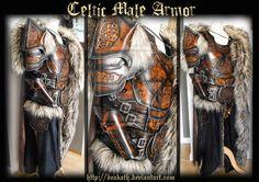 Celtic Male Armor by Deakath.deviantart.com on @DeviantArt