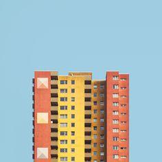 Galeria de Série fotográfica mostra habitações berlinenses do pós-guerra sob um novo foco - 1