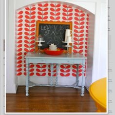 Anna's whimsical color room @ apartment therapy