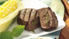 The bold basil flavor of pesto blends beautifully in the grilled steak, and it's ready in just 20 minutes!