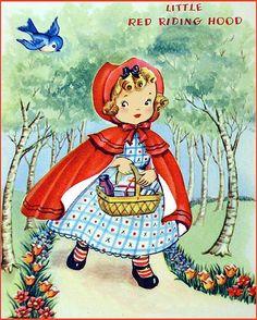 Red Riding Hood-Vintage
