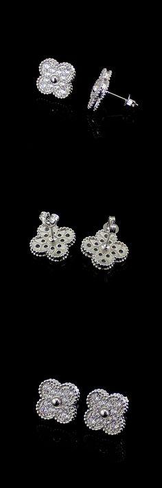 famous fashion silver color long rhinestone earrings for women 5232db922180