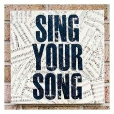 Antique Sheet Music Quote Art Sing Your Song by Stoic on Etsy Singing Quotes, Music Quotes, Art Quotes, Inspirational Quotes, Quote Art, Voice Quotes, Motivational Quotes, Vintage Sheet Music, Music Classroom