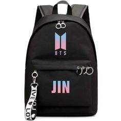Hosston Kpop BTS Bangtan Boys Backpack Unisex Casual Schoolbag Laptop Bag College Bag Travel Rucksack Nice Gift for A.Y(Black Feature:★ Mainly made with high-grade durable material, class… Bts Backpack, Laptop Backpack, Black Backpack, 17 Laptop, Mochila Kpop, Mochila Do Bts, Bts Bangtan Boy, Bts Jungkook, Bts School