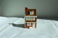 Vintage Ceramic Art Pottery Mini Betsy Ross House Historical Philadelphia PA #betsyross