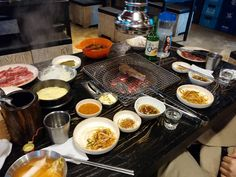 Korean Barbecue in Daegu South Korea