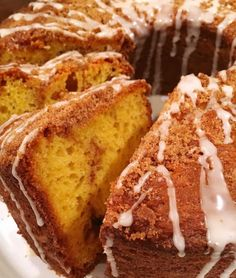 Cake Mix Cinnamon Coffee Cake by Norine's Nest French Vanilla Cake, Vanilla Cake Mixes, Vanilla Pudding Mix, Vanilla Icing, Cake Mix Coffee Cake, Box Cake Mix, Angle Food Cake Recipes, Cake Mix Recipes, Raspberry Bread