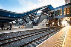 grimshaw architects: reading station phase 2 open - designboom | architecture