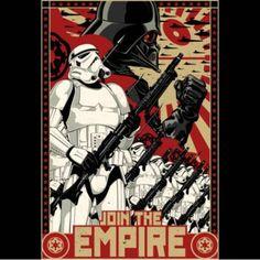 Empire Propaganda t-shirt- Star Wars