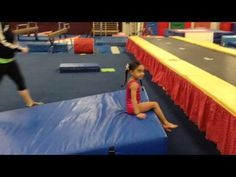 ▶ Preschool Gymnastics Backward Roll - YouTube