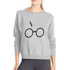 Lightning Glasses Sweatshirt (4 colors) //Price: $22.99 & FREE Shipping // #peterpettigrew #nevillelongbottom #prongs #jewelry #snitch