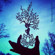 """""""Treat the earth well. It was not given to you by your parents, it was loaned to you by your children. Fairy Silhouette, Ac2, Papercutting, Kirigami, Artist Art, Project Ideas, Paper Art, Stencils, Moose Art"""