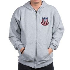 CV-61 USS Ranger Zip Hoodie now available at CafePress