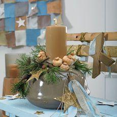 Kreative Warenpräsentation fürs Weihnachtsgeschäft :: BLOOM's