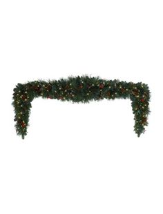 Transform your doorway with our lovely Greenbrier Mountain Pine Christmas swag. Generously sized to fit over a double door, our Greenbrier swag brings high mountain drama to your holiday home.