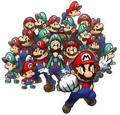 Mario & Luigi Group   Mario & Luigi: Partners in Time
